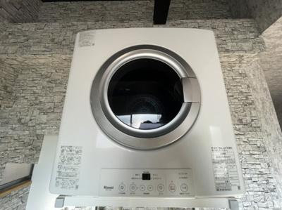 衣類乾燥機付き