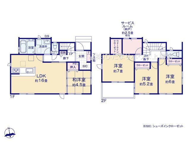 鴻巣市下忍 2期 新築一戸建て グラファーレ 01