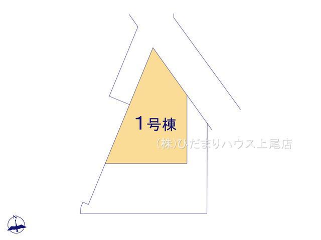 【区画図】鴻巣市下忍 2期 新築一戸建て グラファーレ 01