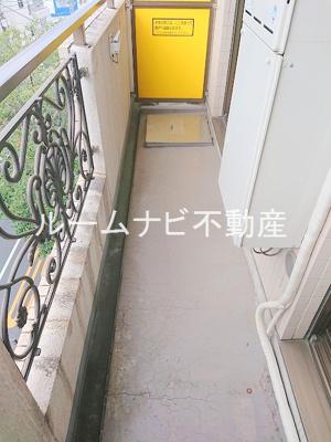 【バルコニー】パークサイド・ヴィラ