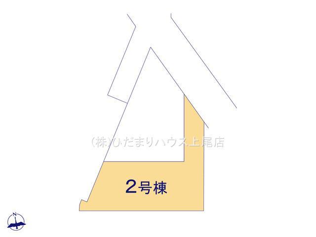 【区画図】鴻巣市下忍 2期 新築一戸建て グラファーレ 02