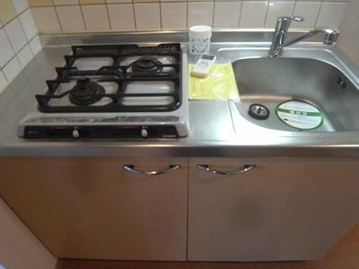 【キッチン】ルーブル池上3番館