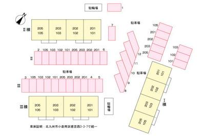 【区画図】アネックス徳吉III