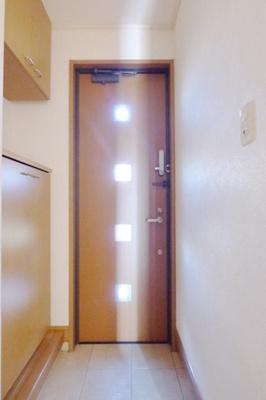 【玄関】パークテラスA・B
