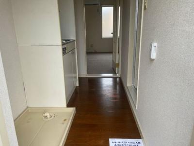 【玄関】レオパレスフラワーアイランド
