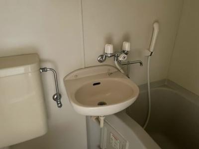【浴室】レオパレスフラワーアイランド