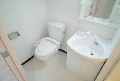 【洗面所】アクロス神戸住吉ステーションフロント