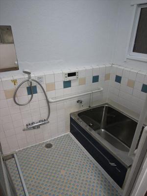 【浴室】町屋Ⅱ貸家