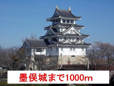 墨俣城まで1000m