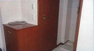 洗濯機置き場周り