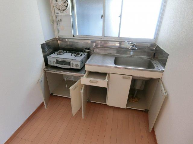 【キッチン】堀切2丁目貸家