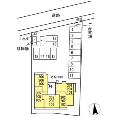 【区画図】グランシャリオ・コハス