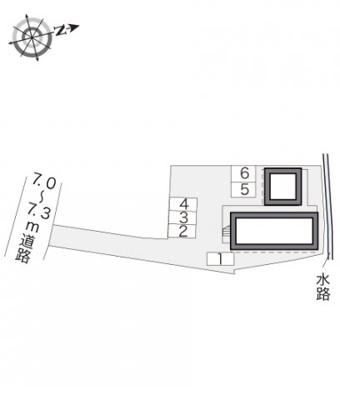 【駐車場】レオパレスMIKUNIⅡ