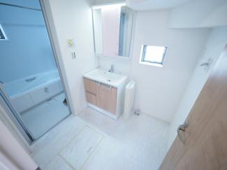 2021年9月16日撮影 清潔感のある洗面台。