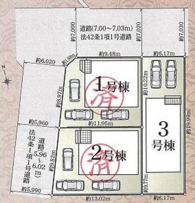 【区画図】東区上西町 第2 AR
