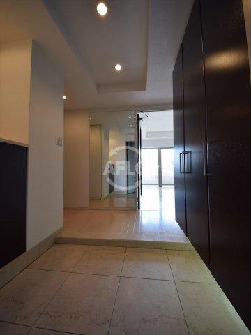 ライオンズマンション大阪スカイタワー 玄関スペース