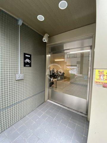 ライオンズマンション大阪スカイタワー 駐輪場