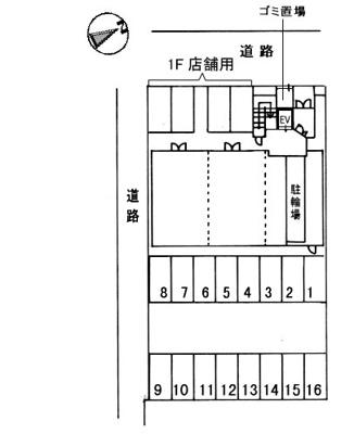 【区画図】ファミーユ・ヒロシマ