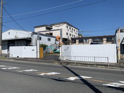 【外観】岸和田3丁目売土地(賃借人あり)