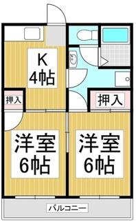 【間取り】長野県諏訪市沖田町5丁目一棟マンション