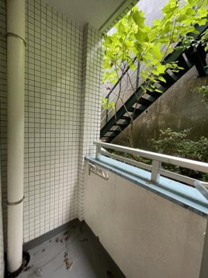 【バルコニー】ウィングス鷺沼