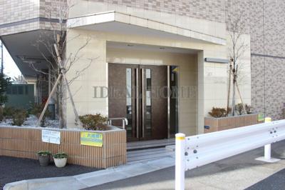 【エントランス】スカイコート多摩川壱番館