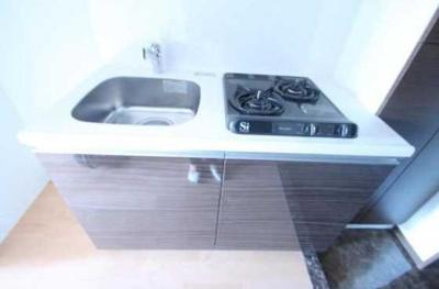 【キッチン】ラスパシオ三軒茶屋 敷金0礼金0 ネット使い放題 独立洗面台