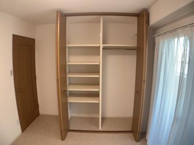 収納のためのスペースです。
