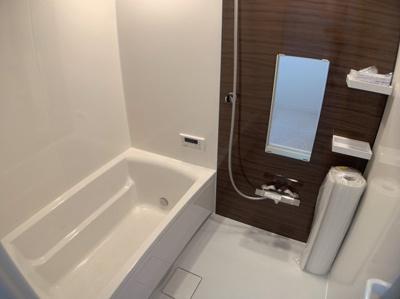 日々の暮らしに欠かせないお風呂です。ゆっくりくつろいで頂けるバスルームです。