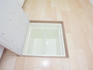 床下収納施工例です。