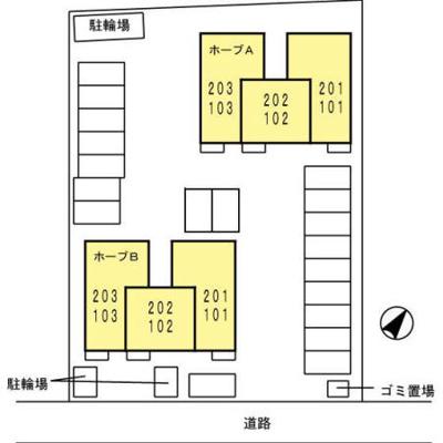 【区画図】ホープ B