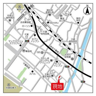 【地図】幕張イースト