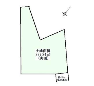 広々68坪超の土地です、建築許可取得済建物プランございます