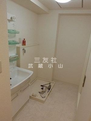 【洗面所】小山台サニーハイツ