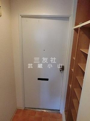 【玄関】小山台サニーハイツ