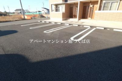 【駐車場】ブローテつくばB