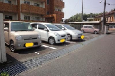 【駐車場】城山清涼ハイツ 3号棟