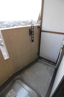 【バルコニー】ステージファースト三軒茶屋 バストイレ別 宅配BOX 分譲賃貸