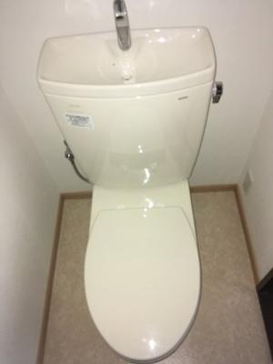 【トイレ】コーポヨコタ