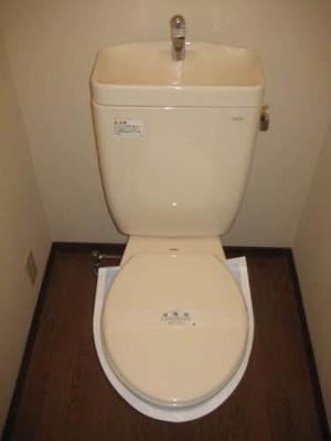 【トイレ】BELLEハイツ
