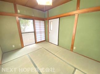 1階和室6帖です♪足を伸ばして寛いでいただける居室です(^^)