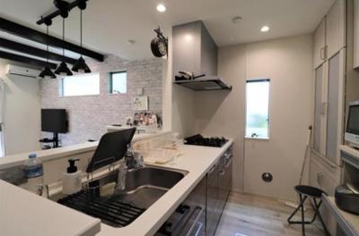 食洗機付き対面キッチン