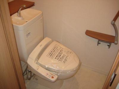 【トイレ】グランドメゾンなかもず
