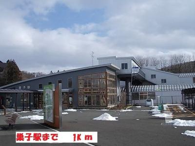 巣子駅まで1000m