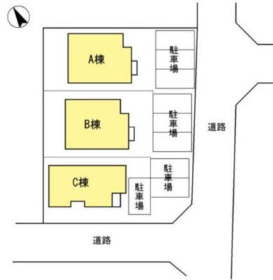 【区画図】西都台貸家