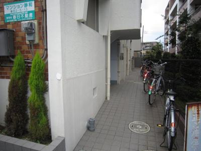 自転車置場スペースがあります