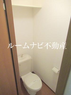 【トイレ】クレール松が谷