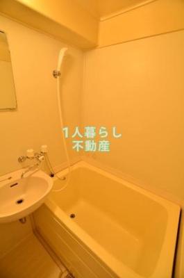 お風呂とトイレは同室です