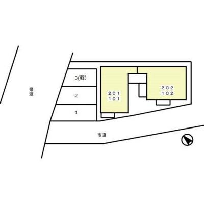 【区画図】グランディール坂戸三光