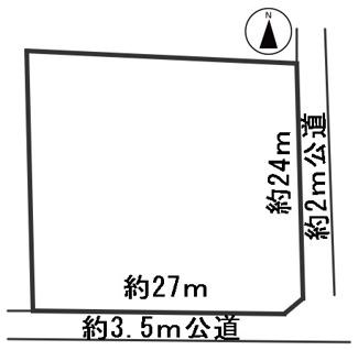 【区画図】57215 揖斐郡大野町大字寺内土地